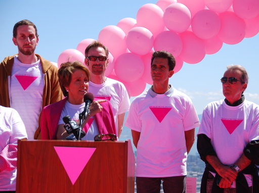 Pink Triangle mayoral proclamation